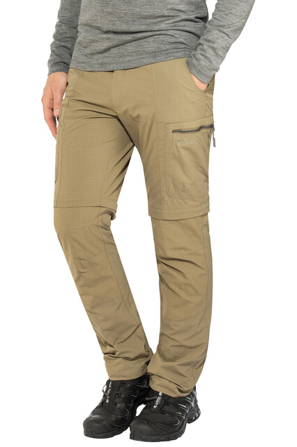 Pinewood M's Namibia Zip-Off Pants Mid Khaki